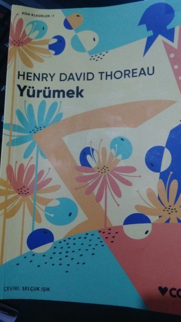 Henry David Thoreau – Yürümek